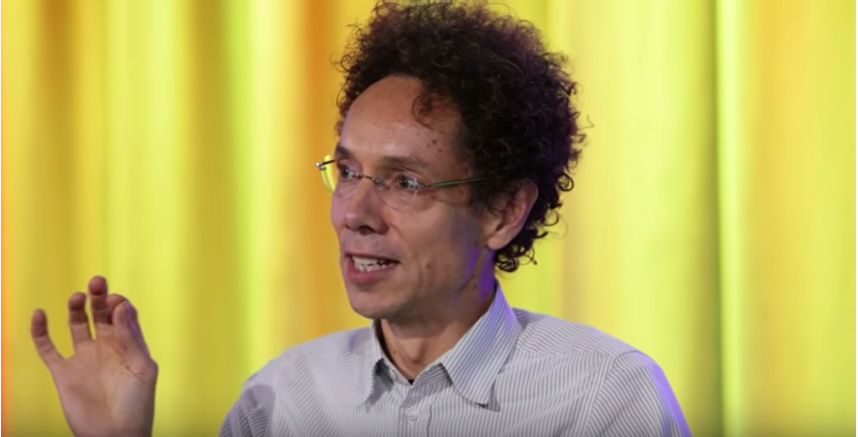 Malcom Gladwell at Google Talks